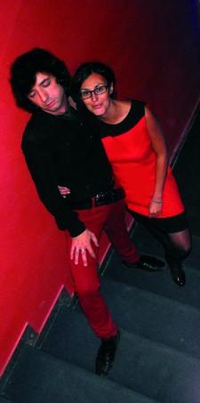 MASSIMO DEL POZZO & ALESSANDRA MONORITI TEEN SOUND RECORDS