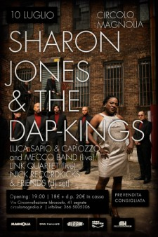 sharon jones live magnolia milano