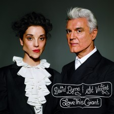 "David Byrne e St Vincent ""LOVE THIS GIANT"