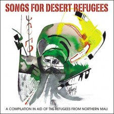 AA VV – Songs for desert refugees   2012   Glitterhouse Records