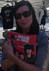RAGAZZE del ROCKl'autrice-foto di Manuele Gargamelli.