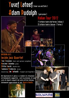 YUSEF LATEF ITALIAN TOUR