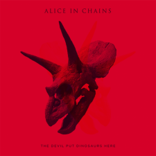 "Alice In Chains ""The Devil Put Dinosaurs Here"" Capitol Records"