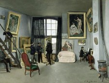 renir La_Crenoir ondamine_rue_9_Atelier_de_Bazille_1870_41_max
