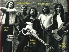 King Crimson 1974 line up