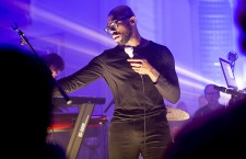 Ghostpoet performs at Arnos Vale Cemetery