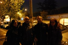 Romina e Felice con Laura Dem e Mirko Santoru degli Hermetic B.O.L.