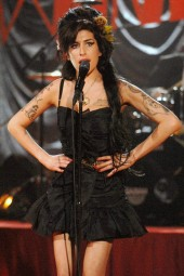 Amy Winehouse At Grammy Show