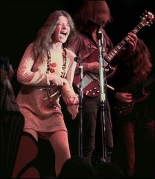 Janis Joplin at the Monterey Pop Festival in 1967