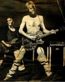 1975 DoM Kid Strange & Stoner Onstage