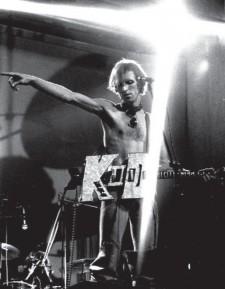 1976 DoM - Kid Strange LIVE Aylesbury