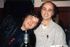 with Rick Danko, Sesto Calende, 1994