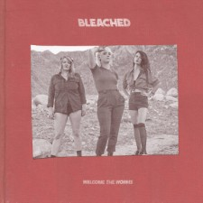 bleached WELCOME THE WORMS  copertina