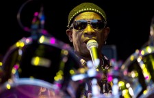 Nigerian drummer Tony Allen appears on t
