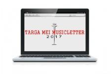 TARGA MEI MUSICLETTER 2017